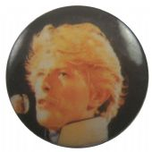 David Bowie - 'Stage Black' Button Badge